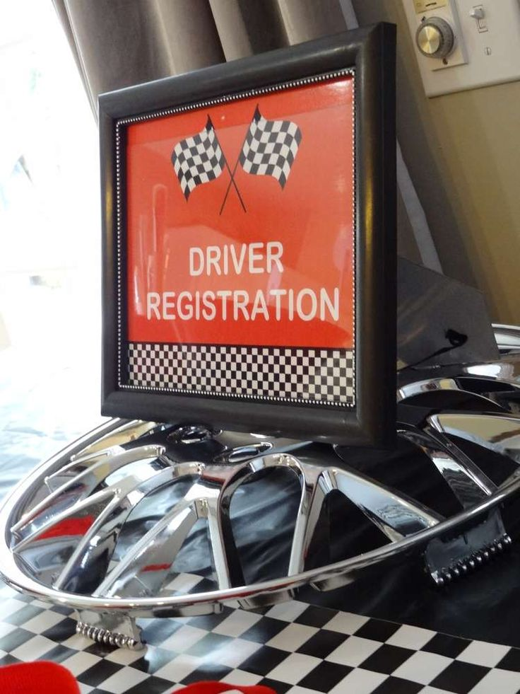 Race Cars Birthday Party Ideas | Photo 12 of 21 | Catch My Party