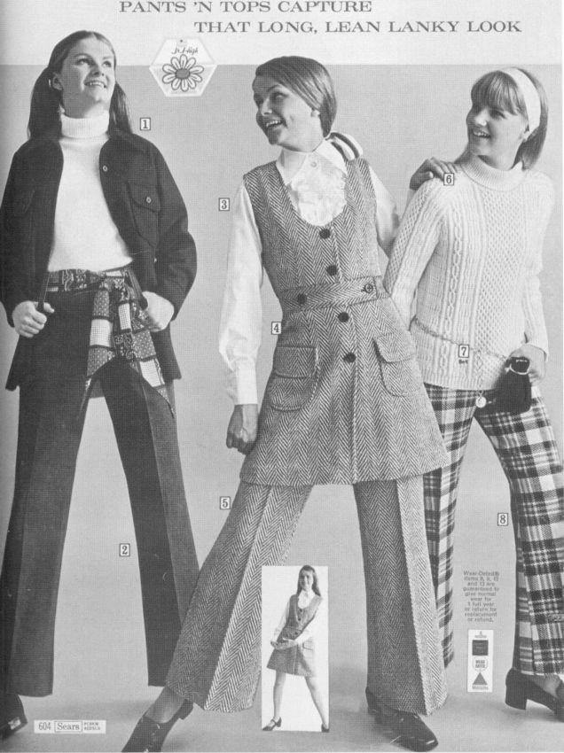 Sears Clothing Catalog - 1969