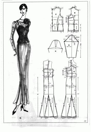 Chinese method of pattern making- Dresses, dresses,dresses ( beginning from the 80s) - SSvetLanaV - Álbumes web de Picasa