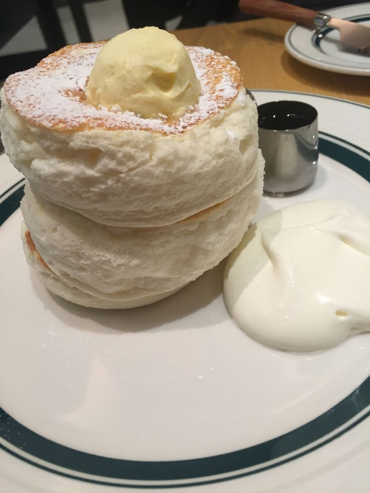 Japanese fluffy pancake #osaka