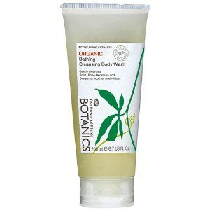 Boots Botanics Organic Cleansing Body Wash 6.7 fl oz (200 ml) by BOOTS. $15.99. This indulgent blend of nourishing foaming cleansers and essential oils helps smooth skin and protect against drying. Fragranced using only 100% pure organic essential oils. 6.7 U.S. fl. oz./200ml.