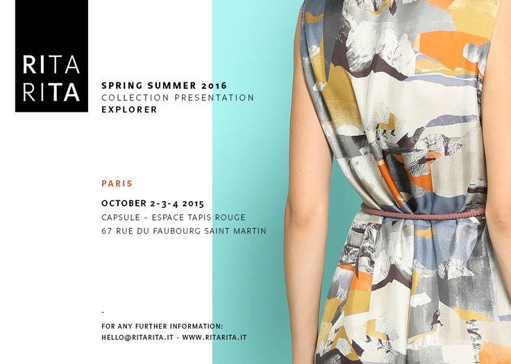 RITARITA SS 16 Collection Presentation | Capsule |Paris Fashion Week