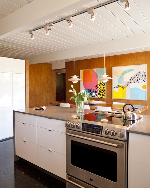 Elegant Before U0026 After: A Retro Kitchen Stays True To Its Roots