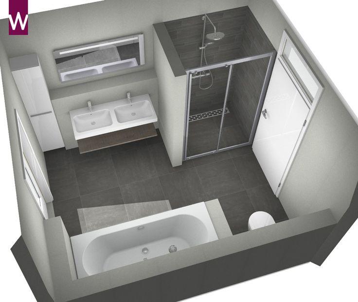 Badkamer ontwerpen? | 3d