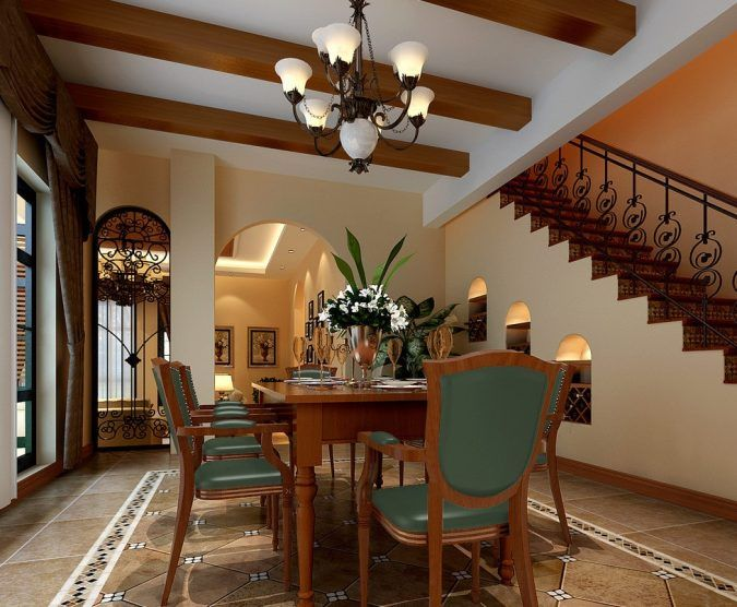 14814 best decoration design images on pinterest design for Dining room under stairs