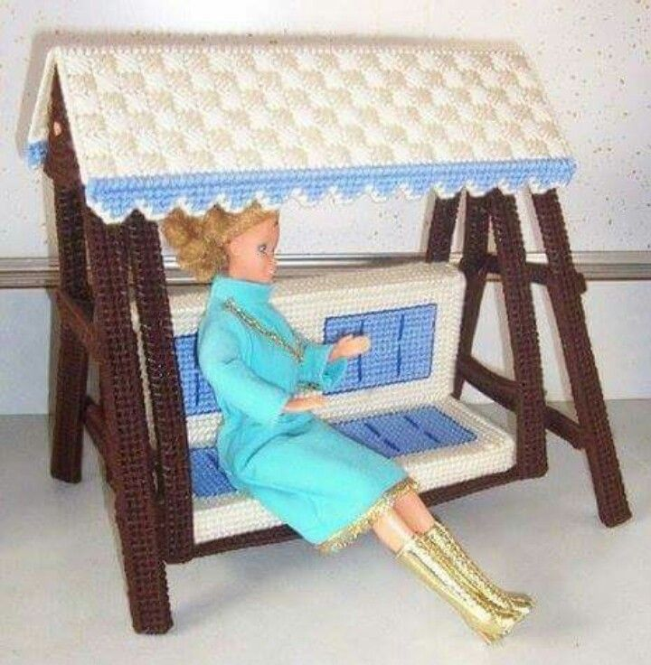 24 Best Images About Barbie Plastic Canvas Furniture Patterns On Pinterest Barbie Slumber