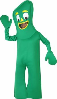 childs gumby costume #ChildrensCostume #HalloweenCostume #Halloween2014