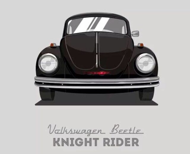 KITT-car VW Bug Knight Rider