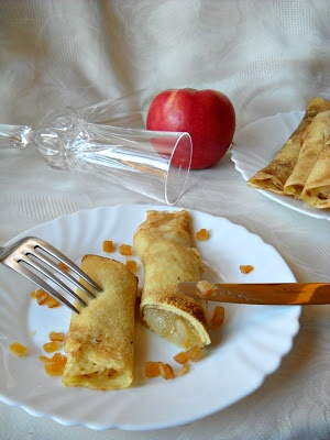 Házias konyha: Almás-narancsos palacsinta