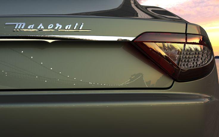 Maserati...one day you will be mine!