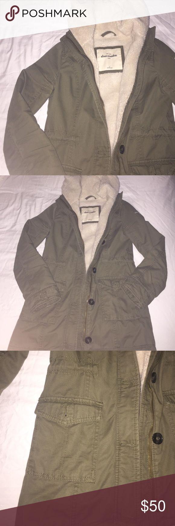 Abercrombie Kids winter jacket Abercrombie kids. Winter jacket. Super thick and warm. Warm lining. Many pockets. No flaws abercrombie kids Jackets & Coats