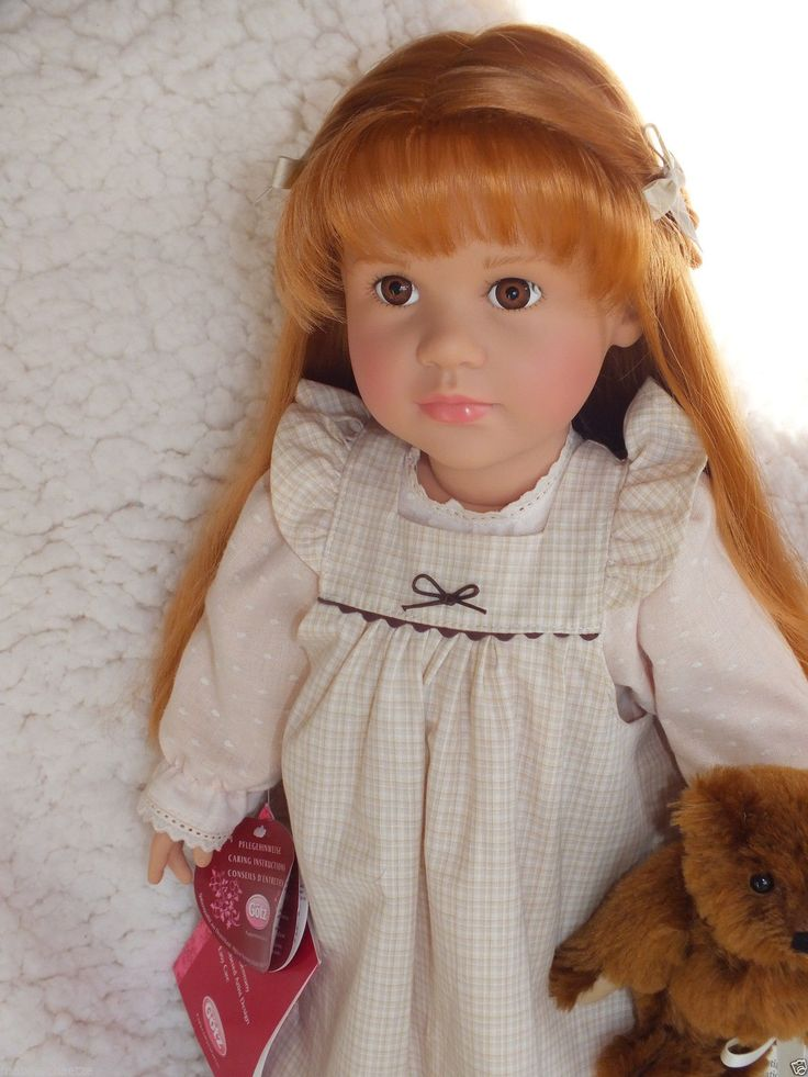 15 best Dolls : Gotz-Steiff images on Pinterest | Vinyl puppen, Alte ...