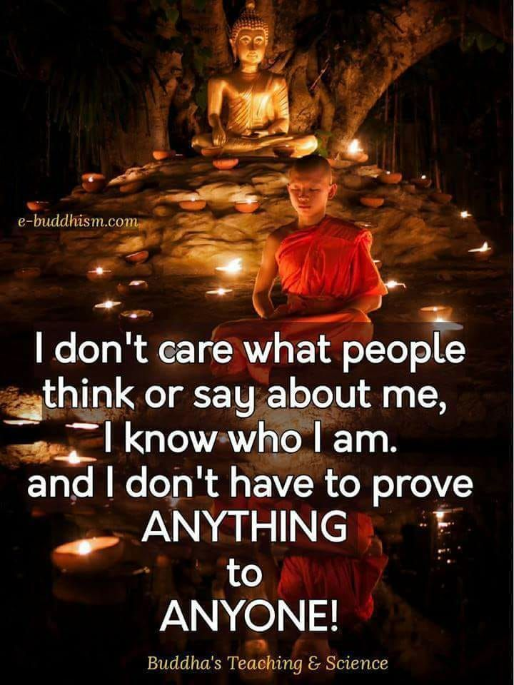 Never worried abt what people say about me.. They never say it to me