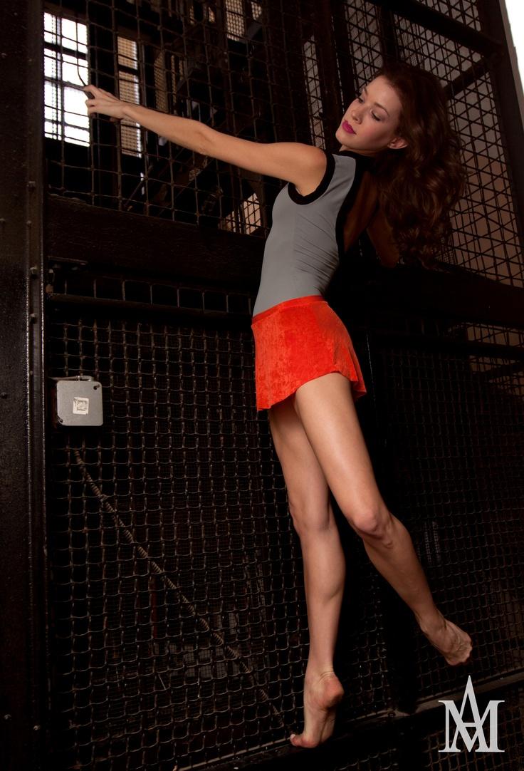 tangerine skirt  model  katelyn prominsky  photo candice