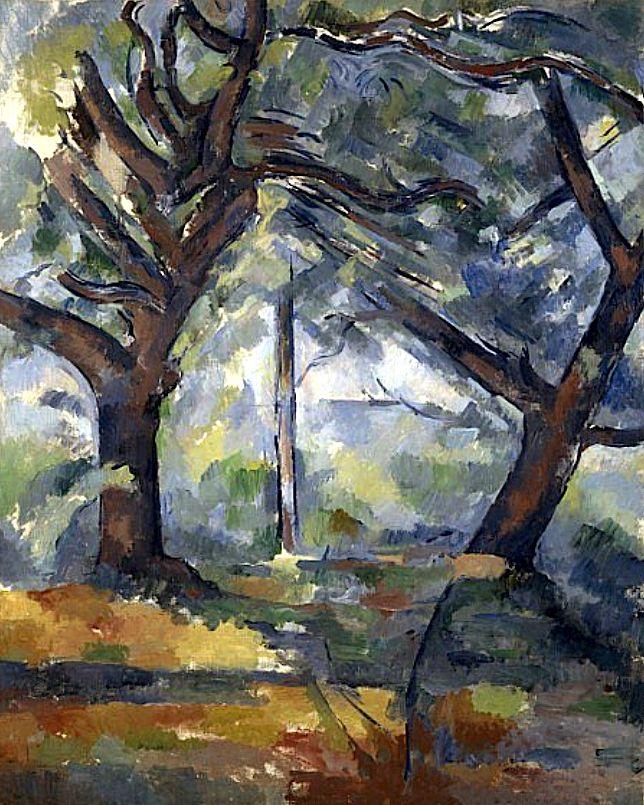 Bofransson: Paul CézanneThe Big Treesabout 1902