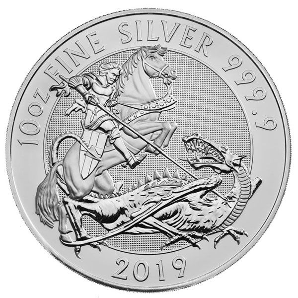 British 10 Oz Valiant Silver Coins For Sale Money Metals Silver Coins For Sale Silver Bullion Mint Coins
