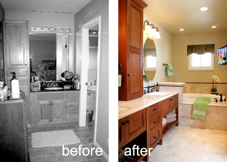 Best BEFORE AFTER Images On Pinterest Building Construction - Bathroom remodel huntington beach