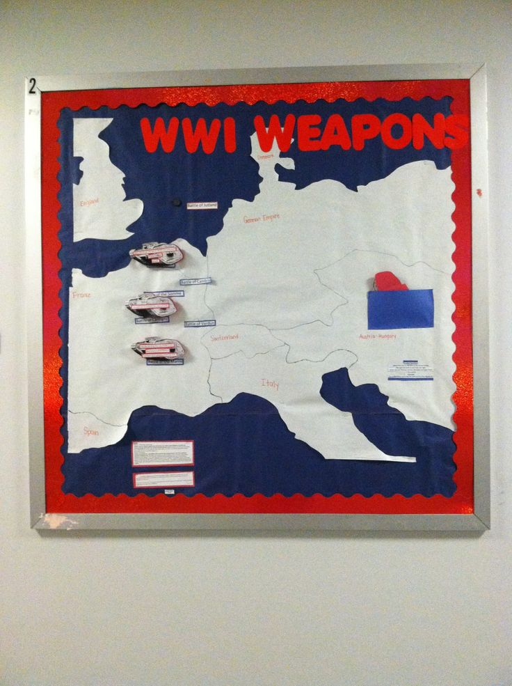10 best world war 1 resources images on pinterest world war one need to project map onto chalkboard and trace with chalkboard markers for sem world war 1 bulletin board there are clues on the tanks that are meant to be gumiabroncs Choice Image