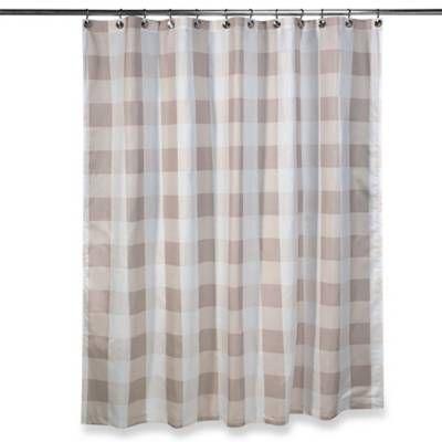 Truly Soft Buffalo Plaid Shower Curtain - Bed Bath & Beyond