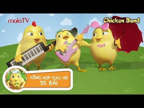 Đăng tải ngày: 2017-02-21 10:58:20; Số lượt người xem: 252810 được đánh giá: 0.00 trên thang 5 điểm.  Thông tin về nội dung: TỔNG HỢP 55 BÀI Nhạc thiếu nhi   Hoạt hình   Chicken Band   Hát cùng Siêu chip   Ban Nhạc Gà Con  maiaTV  Chicken Band là Kênh Ca nhạc Hoạt hình   Bạn đang xem  Nhạc thiếu nhi vui nhộn   TỔNG HỢP 55 BÀI   Chicken Band   Gà con Siêu chíp tại website XemTet.com bản quyền video thuộc về Youtube. Chúc các bạn xem phim  Nhạc thiếu nhi vui nhộn   TỔNG HỢP 55 BÀI   Chicken…