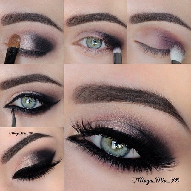 Pictorial  for this Smokey Eyes 1.Apply Daniel's Teddy bear in the upper crease and Meredith'a hul... | Webstagram