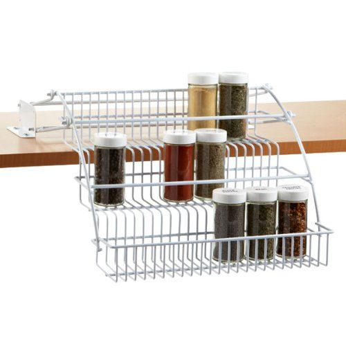 Rubbermaid Pull Down Spice Rack - http://spicegrinder.biz/rubbermaid-pull-down-spice-rack/