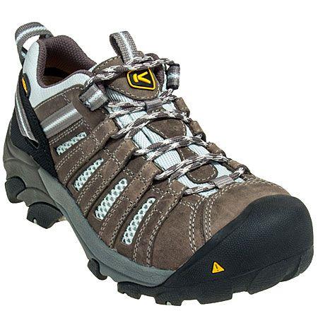 Keen Footwear Women's 1008823 Steel Toe EH Grey Flint Hiking Shoes