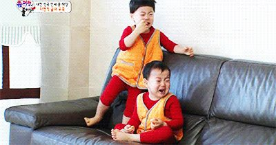 Minguk and Manse is scared of the shark balloon | The Return of Superman