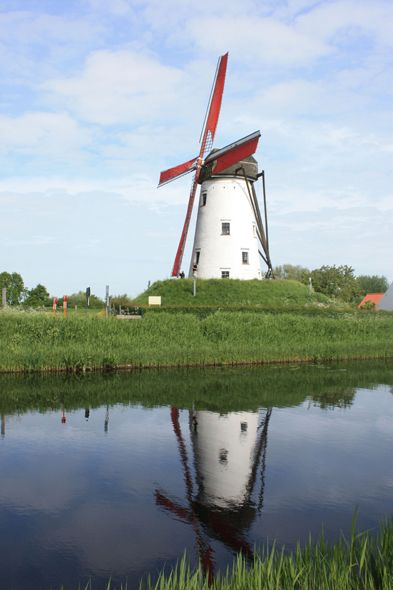 Belgium - Brugge, Damme Mill