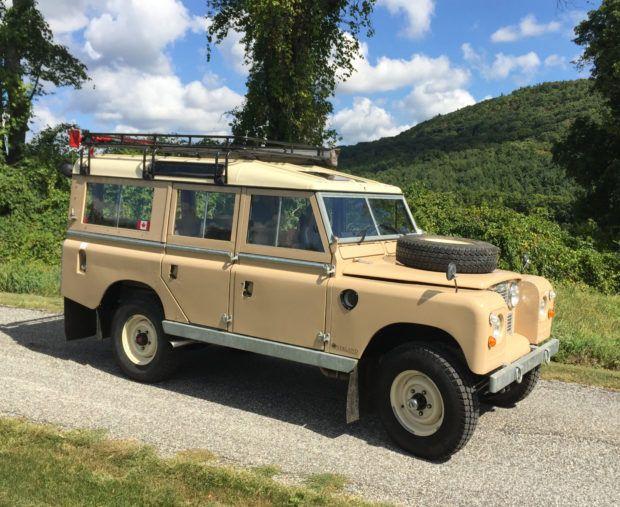 Restored 1967 Land Rover 109