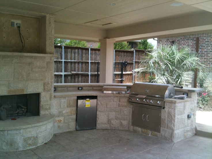 51 Best Images About Outdoor Kitchen On Pinterest Outdoor Living Fireplaces And Layout Design