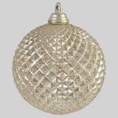 70mm Champagne matt Pineapple ball  Code: BADE007CHAPIAPPM