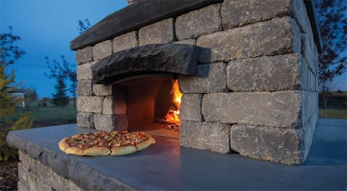 Harvest Grove Outdoor Kitchen: Pizza Oven | barkman | barkman