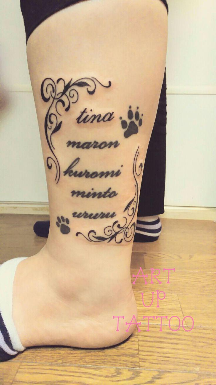 既存のタトゥーにデザインを追加しました とてもゴージャスな仕上がりになりましたね(^_-)⭐  #tattoo #tattoos #tattooart #tattooist #tattooshop #ink #art #bodyart #plants #tribal #name #タトゥー #タトゥースタジオ #インク #アート #ボディアート #アートアップタトゥー #フォント #文字 #名前 #ペットの名前 #東京タトゥー #日野タトゥー #祐 #女性 #女性彫師