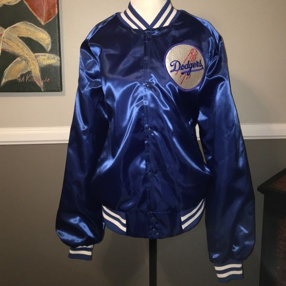 717ddfc5a ⚾ ⚾Vintage Chalk Line LA Dodgers jacket⚾ ⚾ ⚾vintage from the 80 s. They  don t make these babies anymore! Dodger blue satin nylon jac…