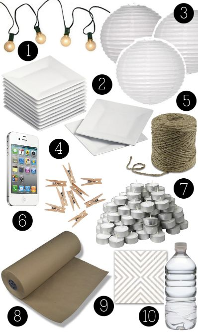 10 Things for an Easy Party - Boxwood Clippings