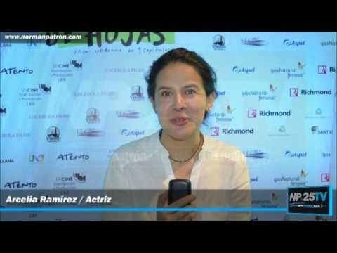 Arcelia Ramírez Actriz manda saludos al público de NP25TV 2017 1