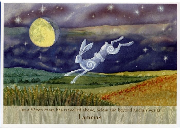 The Goddess and the Green Man   Festivals And Sabbats   Luna Moon Hare At Lammas