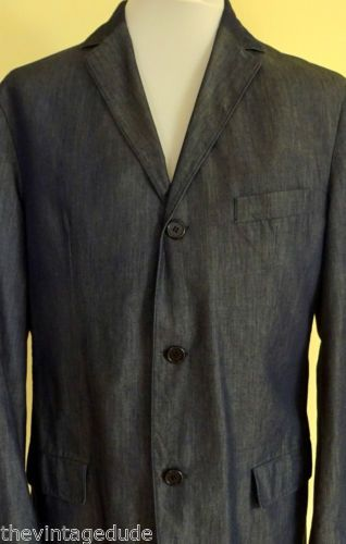 HUGO-BOSS-Antolini-Herban-Blazer-Mens-RED-LABEL-Jacket-CHEST-SIZE-39-2-Button