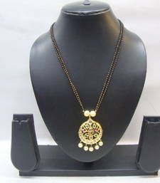 Buy Multicolor polki necklace-sets necklace-set online