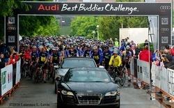 Audi's leading the '2011 Audi Best Buddies Challenge in Washington, D.C'.