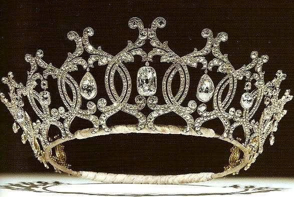 British Crown Jewels Tiaras | ... the kent aquamarine tiara england portland diamond tiara england
