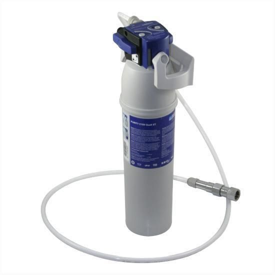 The C150PLVKIT uses the Purity range of filters from BRITA to deliver clean drinking water that has been softened to protect appliances such as espresso machines, ice machines & combi ovens.