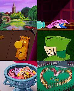 Alice in Wonderland Montage
