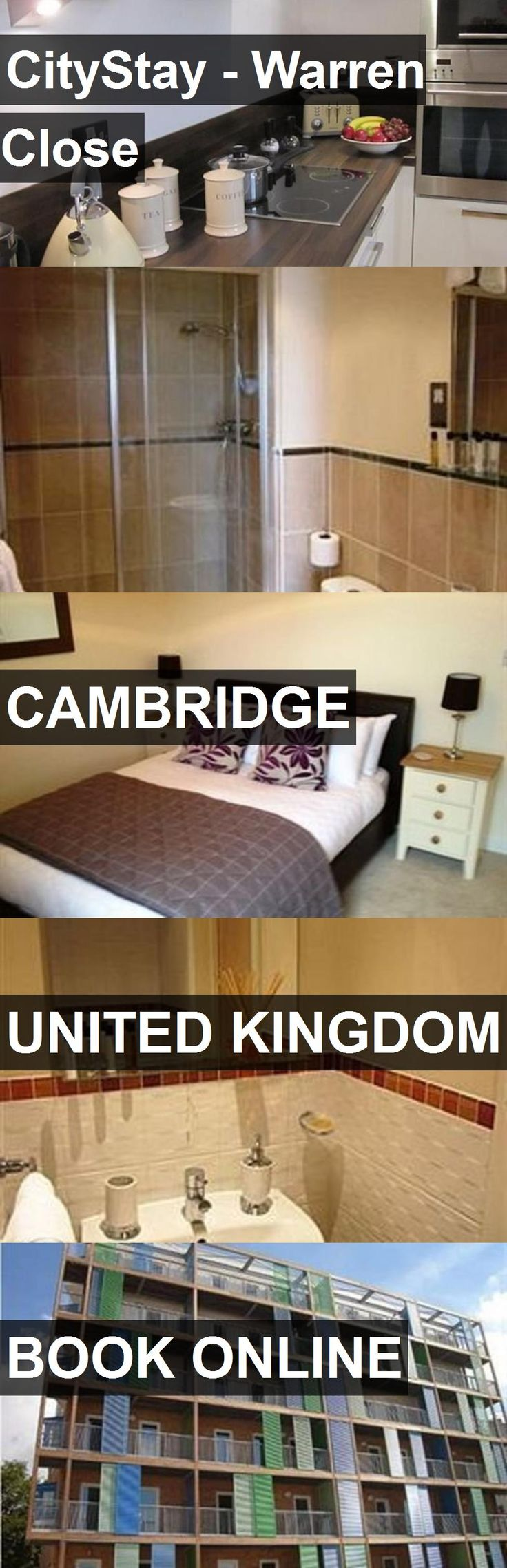 Hotel CityStay - Warren Close in Cambridge, United Kingdom. For more information, photos, reviews and best prices please follow the link. #UnitedKingdom #Cambridge #travel #vacation #hotel