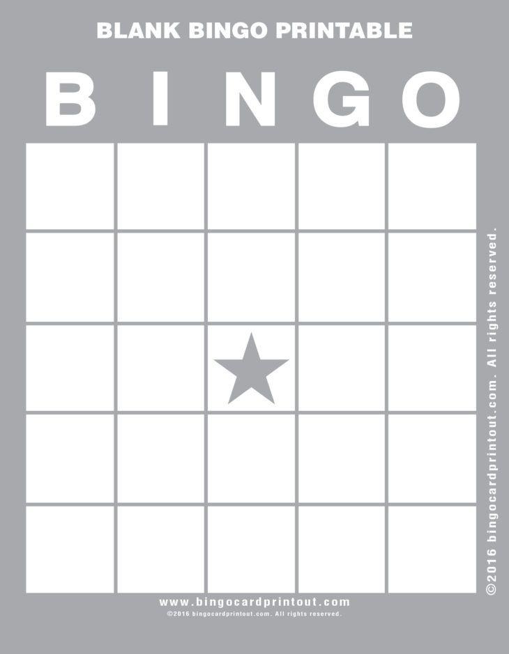 Blank Bingo Printable 9 Bingo Sheets Bingo Cards Bingo Template