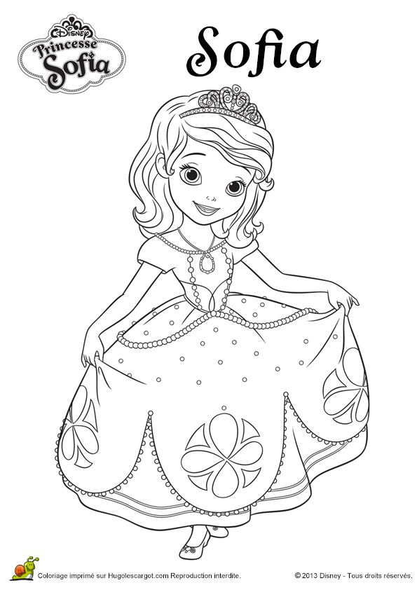 Sofia Da Disney Para Colorir 3 Princess Sophia Coloring ...