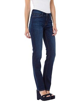Cross Damen Jeans Rose - Regular Fit - Blau - Dark Blue