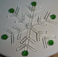 Dean's Blog: Glass Fused Snowflake