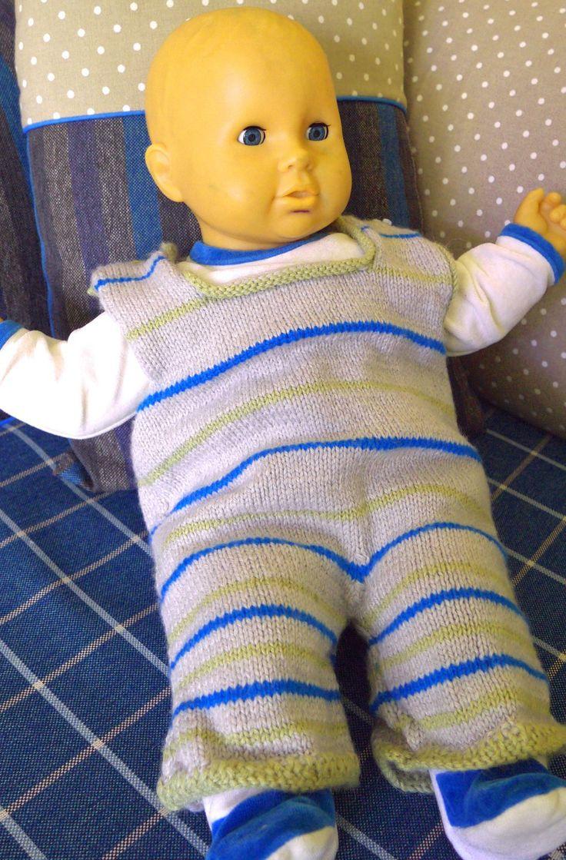 cadeau naissance bébé salopette 1 à 3 mois pantalon combinaison : Mode Bébé par princesse-aglae